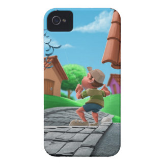 flying a kite Case-Mate iPhone 4 case
