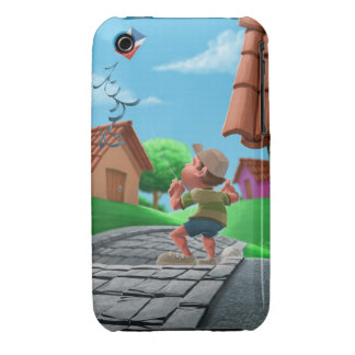flying a kite iPhone 3 Case-Mate case