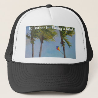 Flying a Kite Trucker Hat