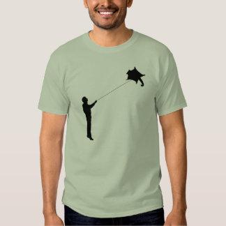 Flying a Sugar Glider Kite Tee Shirt