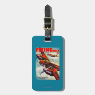 Flying Aces Magazine Cover 5 Bag Tag