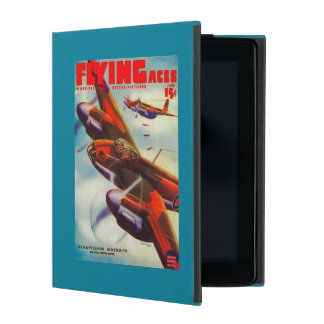 Flying Aces Magazine Cover 5 iPad Cases