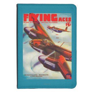 Flying Aces Magazine Cover 5 Kindle Case