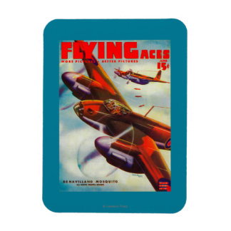Flying Aces Magazine Cover 5 Magnet