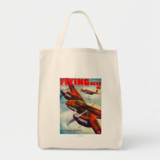 Flying Aces Magazine Cover 5 Tote Bag