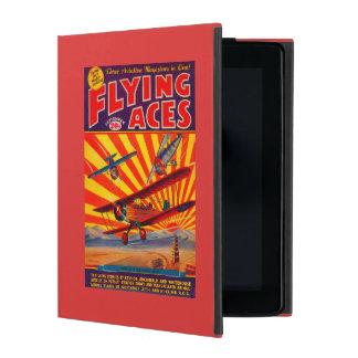 Flying Aces Magazine Cover iPad Folio Case