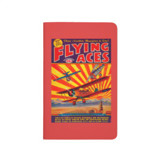 Flying Aces Magazine Cover Journal