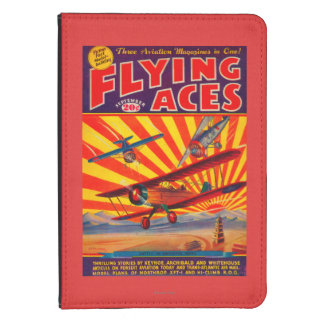 Flying Aces Magazine Cover Kindle Case