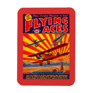 Flying Aces Magazine Cover Magnet