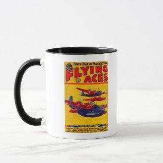 Flying Aces Magazine Cover Mug