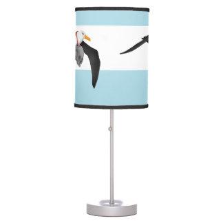 Flying Albatross With Human Skull Desk Lamp