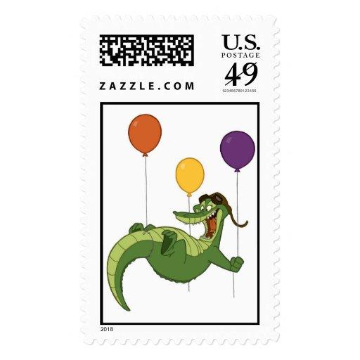Flying Alligator Stamps