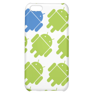 Flying Android Blue iPhone 5C Covers