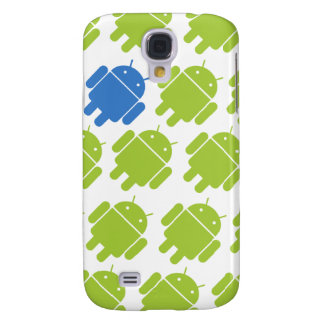 Flying Android Blue Samsung S4 Case