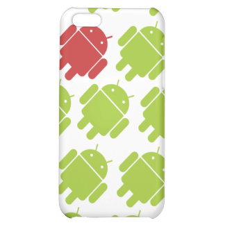 Flying Android Red iPhone 5C Cases