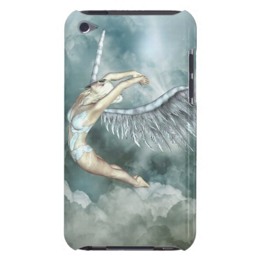 flying angel barely there iPod cover