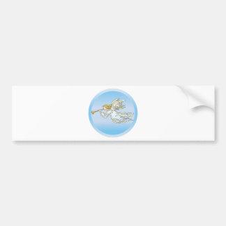 Flying Angel Car Bumper Sticker