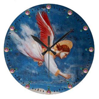 FLYING ANGEL LARGE CLOCK