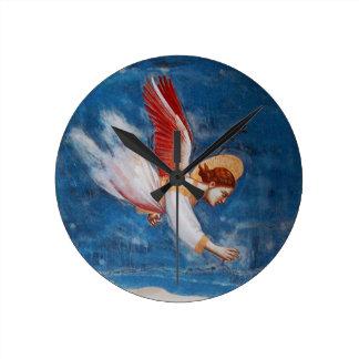 FLYING ANGEL / ST JOACHIM'S DREAM ROUND CLOCK
