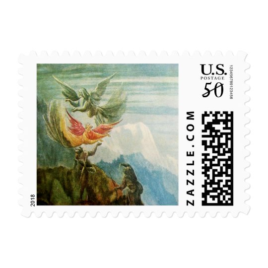 FLYING ANGELS - MAGIC OF CHRISTMAS POSTAGE