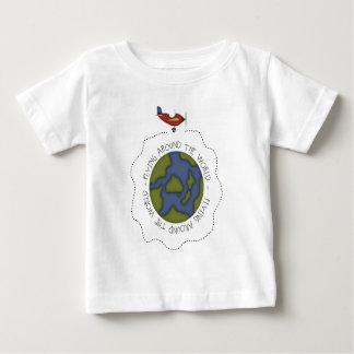 Flying Around the world Tee Shirt