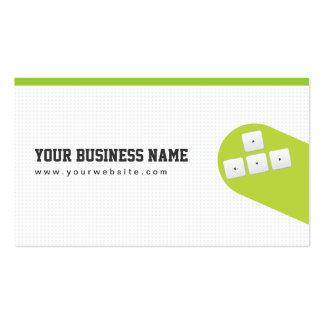Flying Arrow Keys Game Programmer Business Card