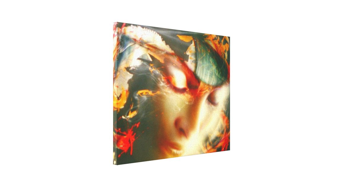 """Flying..."" ArteKaos Wrapped Canvas Print"