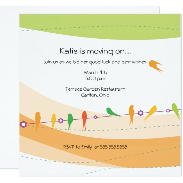 ... Letter Format For Farewell Party - Wedding Invitation Sample