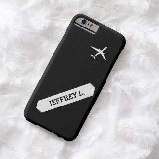 Flying Away | High Altitude Airplane Personalized Barely There iPhone 6 Case