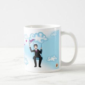 Flying away together - Him Classic White Coffee Mug