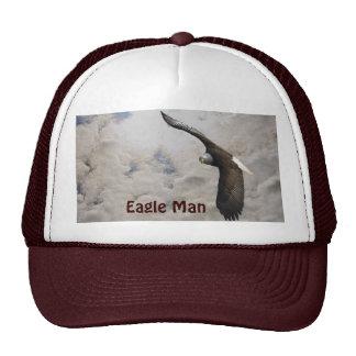 Flying Bald Eagle & Clouds Wildlife-lover's Hat