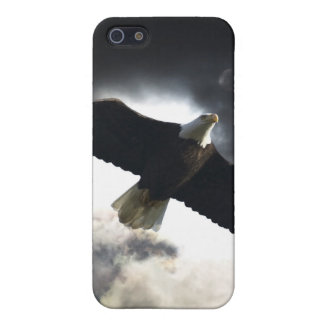 Flying Bald Eagle & Clouds Wildlife Photography Case For iPhone SE/5/5s