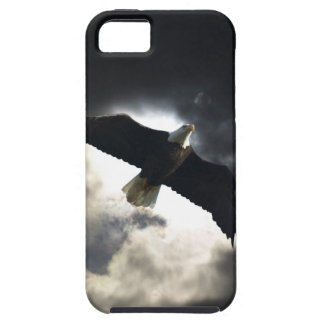 Flying Bald Eagle & Clouds Wildlife Photography iPhone SE/5/5s Case