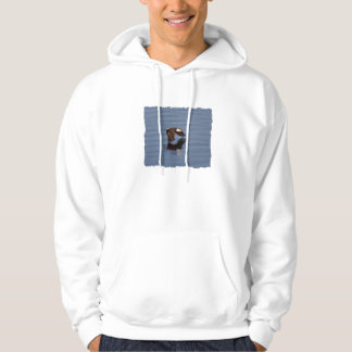 Flying Bald Eagle Hoodie