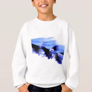 Flying Bald Eagle Sweatshirt