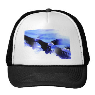 Flying Bald Eagle Trucker Hat