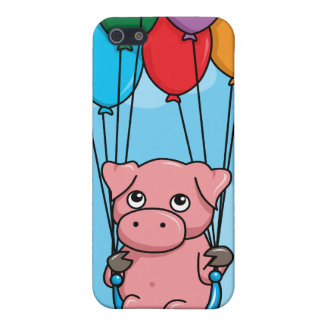 Flying Balloon Pig iPhone SE/5/5s Case