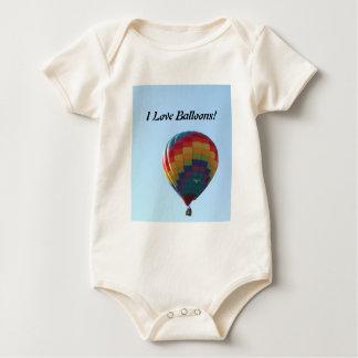 Flying Balloon Seagulls Baby Bodysuit