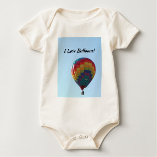 Flying Balloon Seagulls Romper