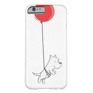 flying balloon westie barely there iPhone 6 case