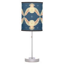 Flying Barn Owl Table Lamp