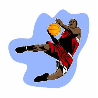 Flying basketball player photo cutouts