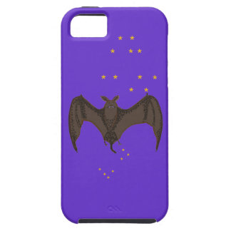 Flying Bat and starry sky iPhone SE/5/5s Case