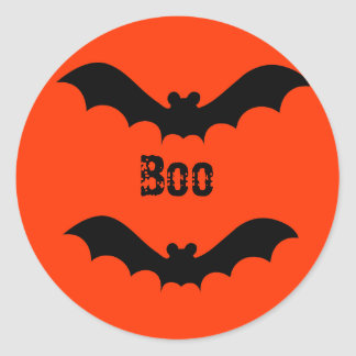 Flying Bat Halloween Sticker