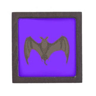 Flying Bat Keepsake Box