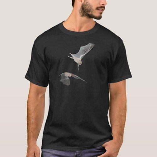 Flying bat photo design Dark T_Shirt T_Shirt