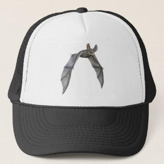 Flying Bat with Wings on Downstroke Trucker Hat