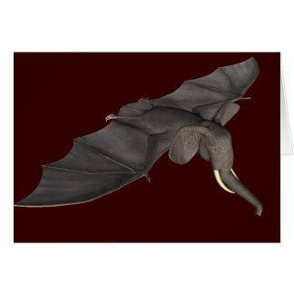 Flying Batphant Card