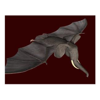 Flying Batphant Postcard
