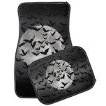 Flying Bats and a Full Moon Floor Mat
